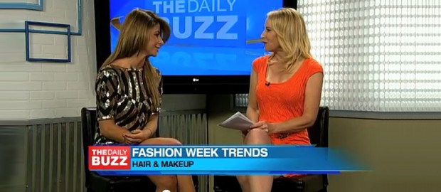 Olcay Gulsen Talks Fashion & Beauty Trends From New York Fashion Week On 'The Daily Buzz'