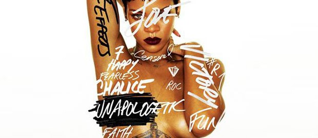 Rihanna Reveals Album Cover For 'Unapologetic'