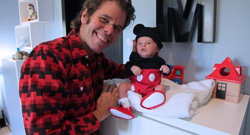 Perez Hilton Debuts New Baby Boy To LA Times