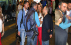 Olcay Gulsen Greeted By Paparazzi Upon Arrival To Turkey